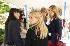 The Monterey Five in Big Little Lies gathers for a talk.